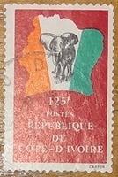 timbre Côte d'Ivoire 004