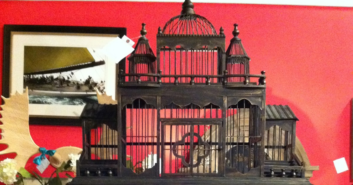 Foxtrot musings antique bird cages - Old fashioned vintage bedroom design styles cozy cheerful vibe ...