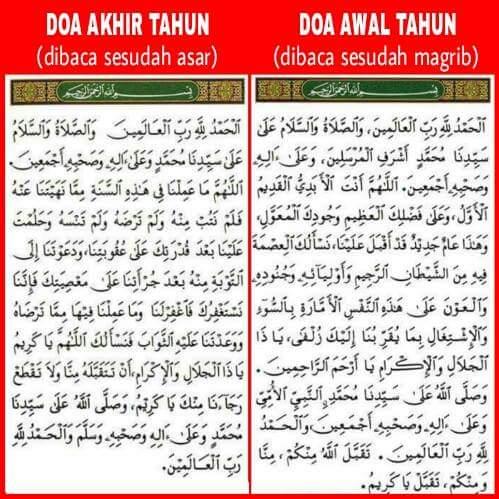 Doa Awal Dan Akhir Tahun Adalah Bid Ah Download Kajian Islam Ilmiyah Pangandaran