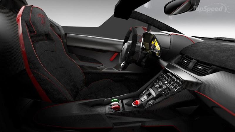 Lamborghini Veneno interior looks