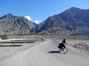 The slope right after Gilgit
