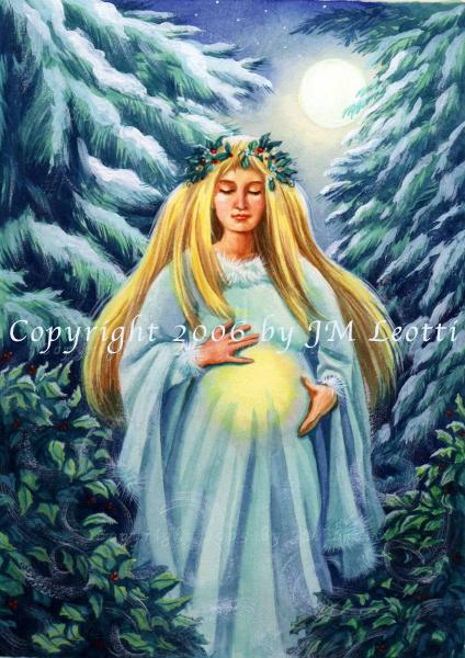 Yule Goddess Leotti, Goddesses