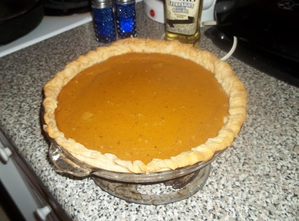 San's Pumpkin Pie Recipe