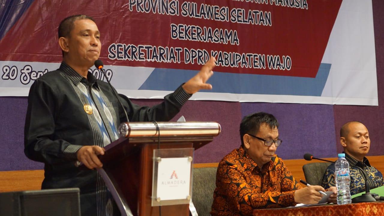 Tingkatkan Pengetahuan, 40 Anggota DPRD Wajo Ikut Orientasi