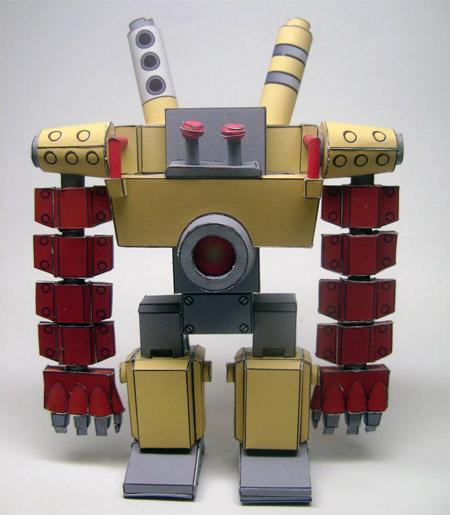 Tail Concerto Papercraft Mecha