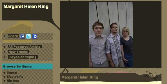 margaret helen king