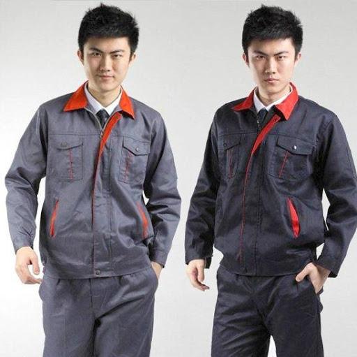 Quần áo bảo hộ lao động vải bạt dầy - QAK0011