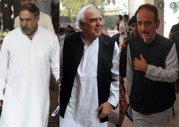 Azad, Sibal out from star campaigners list | ಕೈ ಪಾಳಯದಿಂದ ಸಿಬಲ್, ಗುಲಾಂ ನಬಿ ದೂರ?: ಚರ್ಚೆಗೆ ಕಾರಣವಾದ ಕೈ ತಾರಾ ಪ್ರಚಾರಕರ ಪಟ್ಟಿ