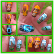 The Lion King Inspired Nail Art