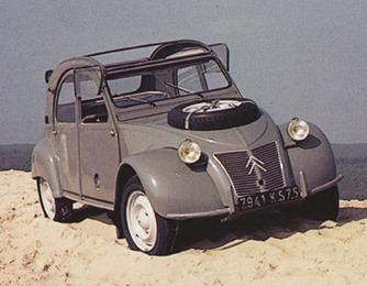 Citroën 1958 2 CV Sahara