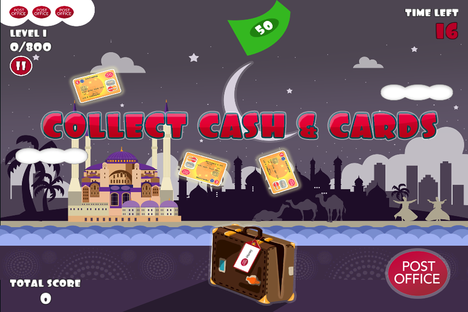 Post Office Cash Collector- screenshot