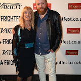 OIC - ENTSIMAGES.COM - Toyah Willcox and Steve Oram at the Film4 Frightfest on Friday of  AAAAAAAAH UK Film Premiere at the Vue West End in London on the 28th August 2015. Photo Mobis Photos/OIC 0203 174 1069
