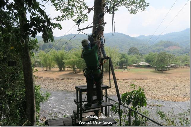 馬來西亞沙巴 九如河泛舟 溜索 (75)