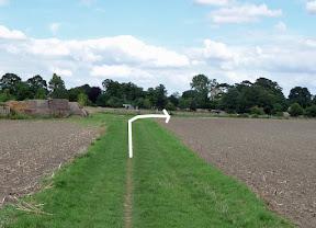 10k 9.3km, Right by Midden