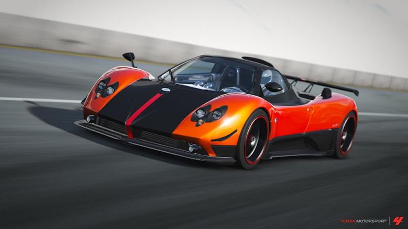 Pagani Zonda Cinque Roadster Wallpaper