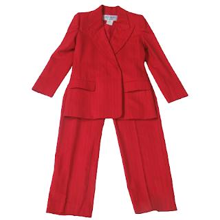 Yves Saint Laurent Vintage Pinstripe Suit