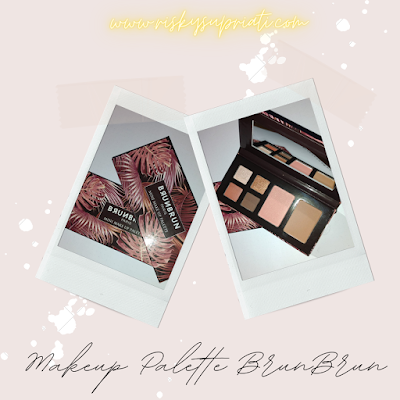 Makeup palette set natural