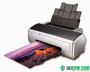 How to Reset Epson R2400 flashing lights problem