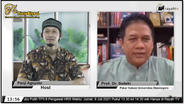 Prof. Suteki: Terungkap Pelanggaran HAM Berat dalam Buku Putih TP3