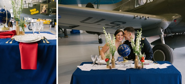 Patriotic Military Wedding Inspiration Tidewater And