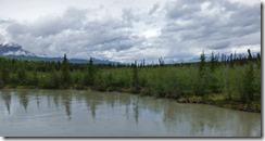 Water along Glenn Highway, Alaska
