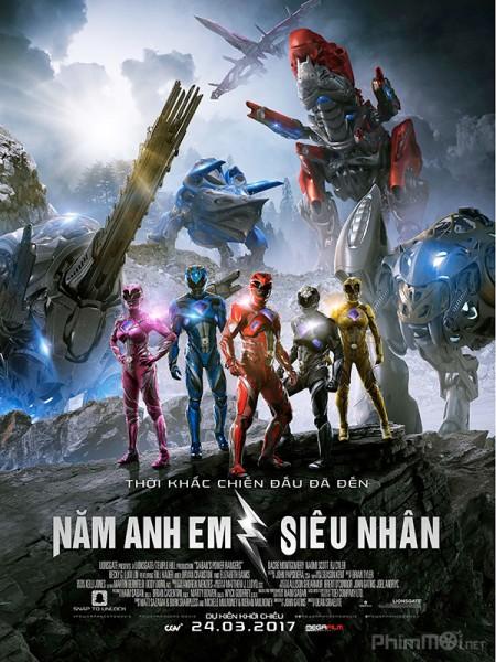 Năm anh em siêu nhân - Power Rangers