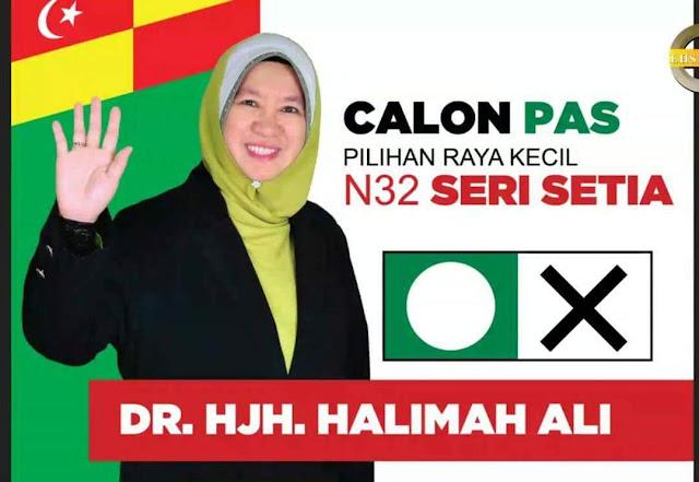 DR. HJH. HALIMAH ALI, Calon Sri Setia