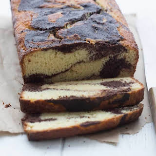 Low Carb Sour Cream Marble Loaf.