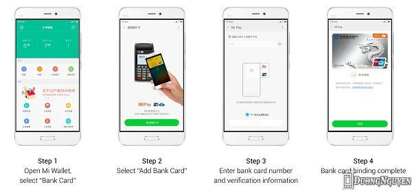 Làm cách nào để add (thêm) thẻ ngân hàng của bạn vào dịch vụ Mi Pay