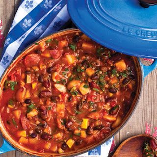 Vegetarian Chili With Soy Crumbles Recipes