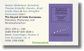 Whitehead et al.: The Sound of Indo-European