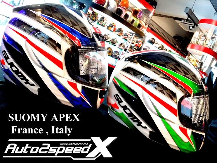 หมวกกันน็อค SUOMY APEX ITALY FRANCE