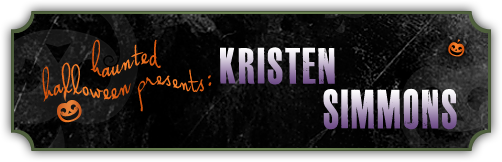 Haunted Halloween with Kristen Simmons and a Giveaway
