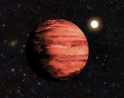 ilustração do planeta CoRoT ID 223977153-b