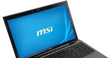 MSI CX70 0NC Notebook Elantech Multi Touchpad Last