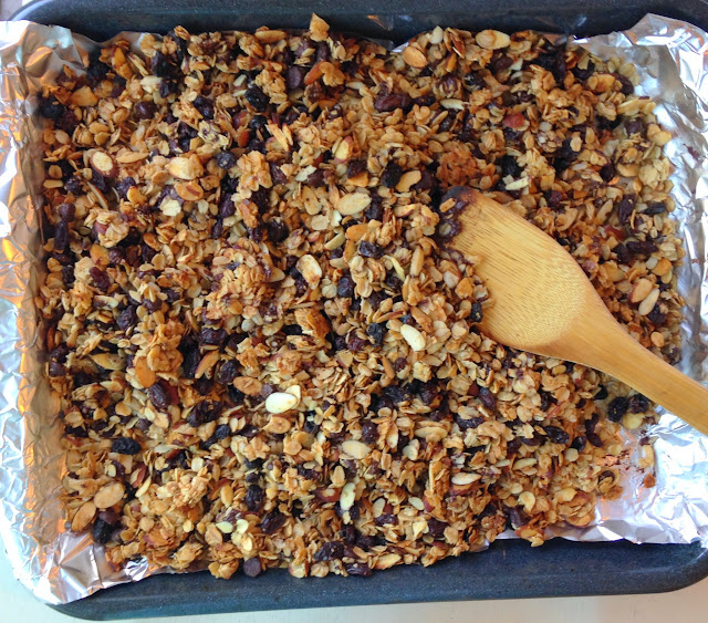 Asian Family Recipes: Homeade Granola