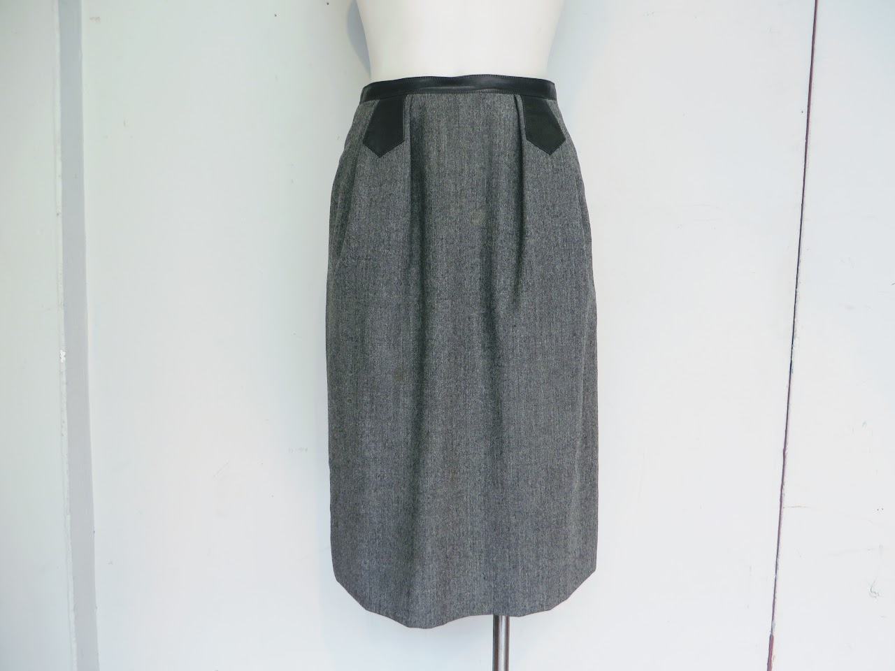 Hermes Wool Skirt