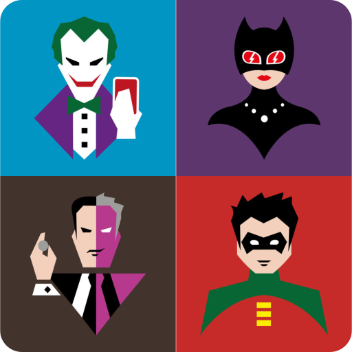 Guess the SuperHero & Villains Batman Quiz