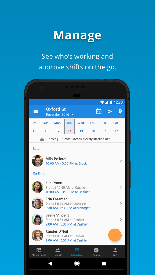 Deputy: #1 Shift Planning App- screenshot