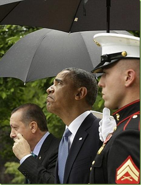 umbrella obama