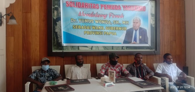 Solidaritas Pemuda Yahukimo Dukung Yunus Wonda Mengisi Kekosongan Wagub Papua