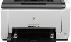 Down HP LaserJet Pro CP1025nw inkjet printer driver program
