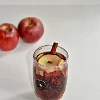 Apple Sangria.