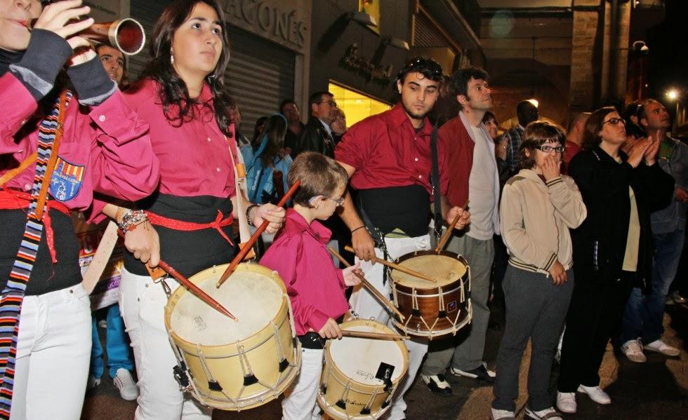 XVI Diada dels Castellers de Lleida 23-10-10 - 20101023_160_grallers_CdL_Lleida_XVI_Diada_de_CdL.jpg