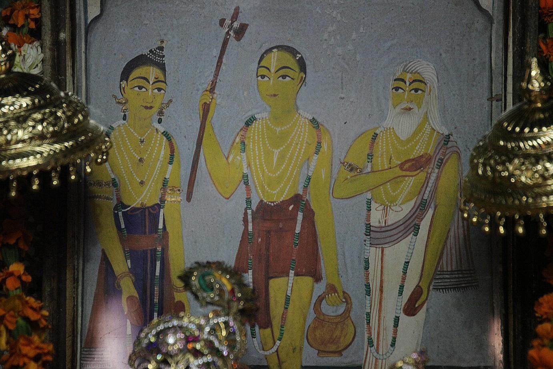 Lord Chaitanya Visits Vrindavan
