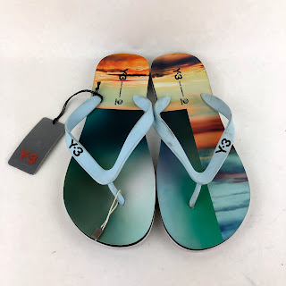 Y-3 Flip Flops with Tags