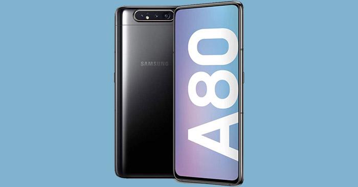 resmi diumumkan pada bulan April lalu pada acara Samsung Galaxy Event yang dilangsungkan  Samsung Galaxy A80 : Harga Januari 2021, Spesifikasi, Fitur Unggulan