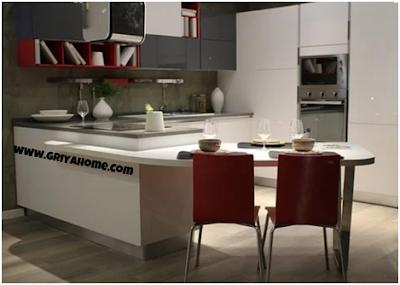 Desain Kitchen Set Minimalis Keempat