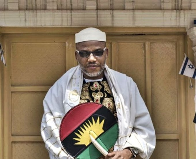 """The Collapse Of Nigeria Will Happen Soon"" – Nnamdi Kanu Reveals"