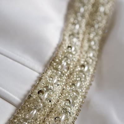 Erin - Heavily encrusted beaded belt